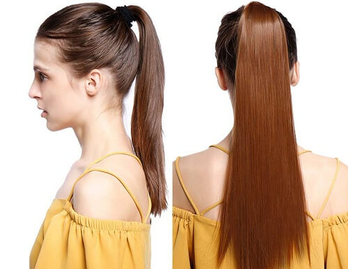 hair extensions Ponytail Hairstyle